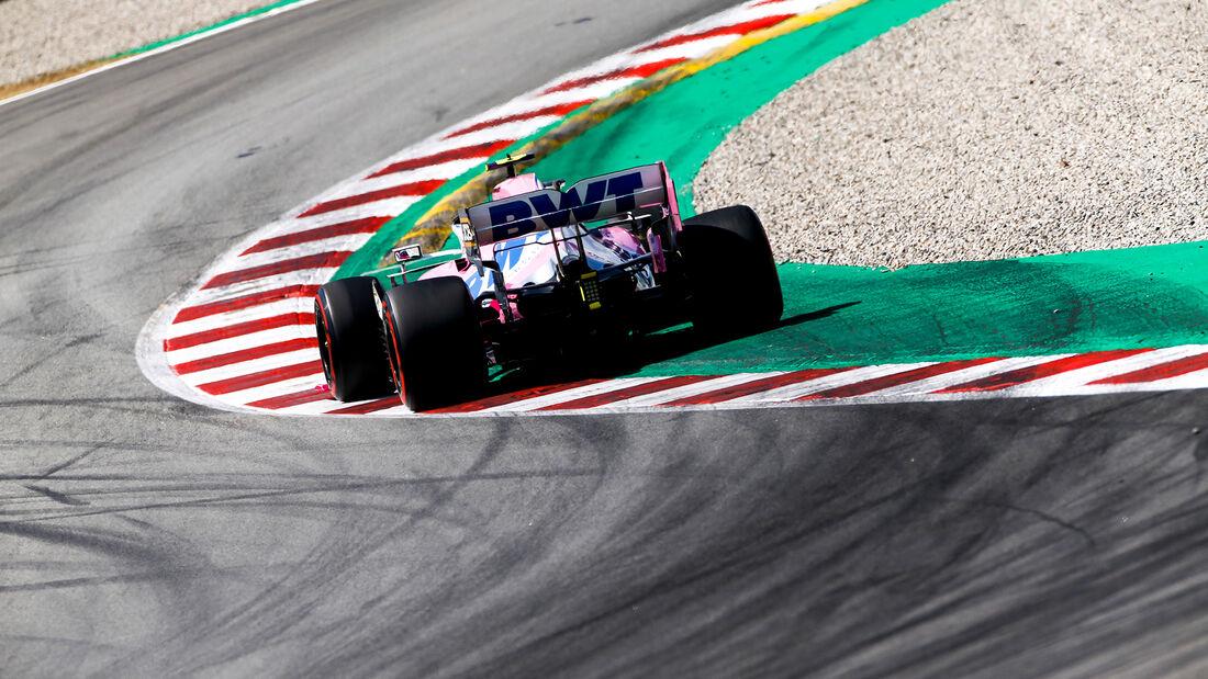 Lance Stroll - Racing Point - Formel 1 - GP Spanien - Barcelona - Qualifying - Samstag - 15. August 2020