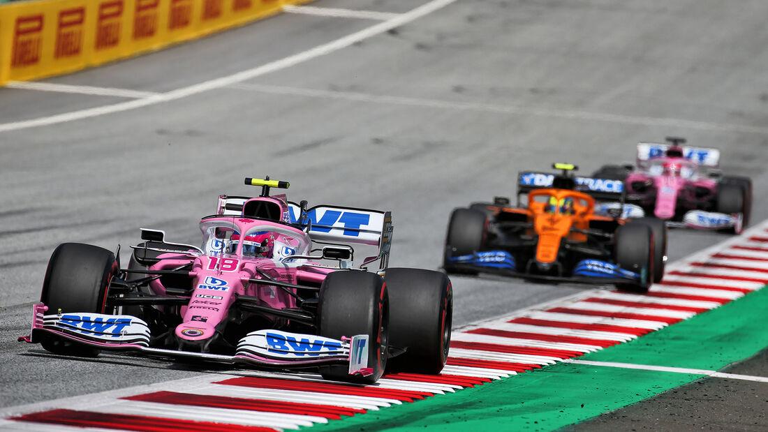 Lance Stroll - Racing Point - Formel 1 - GP Steiermark 2020 - Spielberg - Rennen
