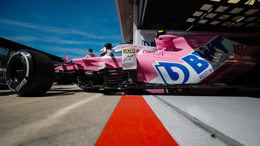 Lance Stroll - Racing Point - Formel 1 - GP Steiermark - Österreich - Spielberg - 10. Juli 2020