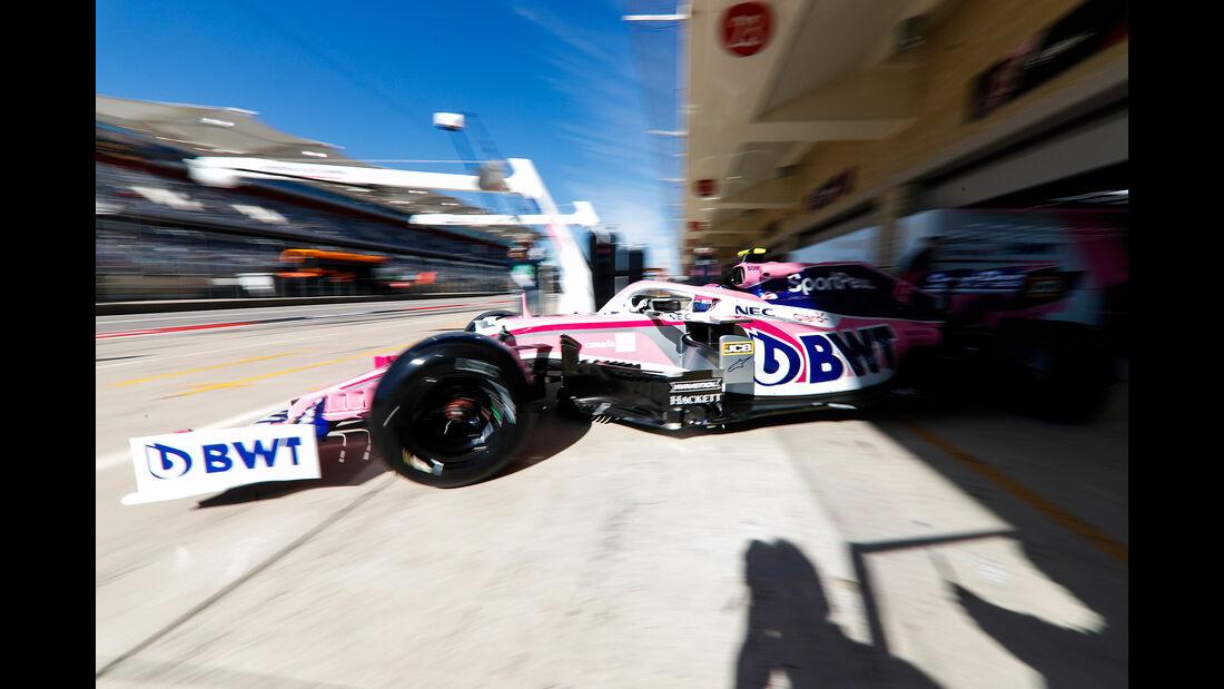 Lance Stroll - Racing Point - Formel 1 - GP USA - Austin - 1. November 2019