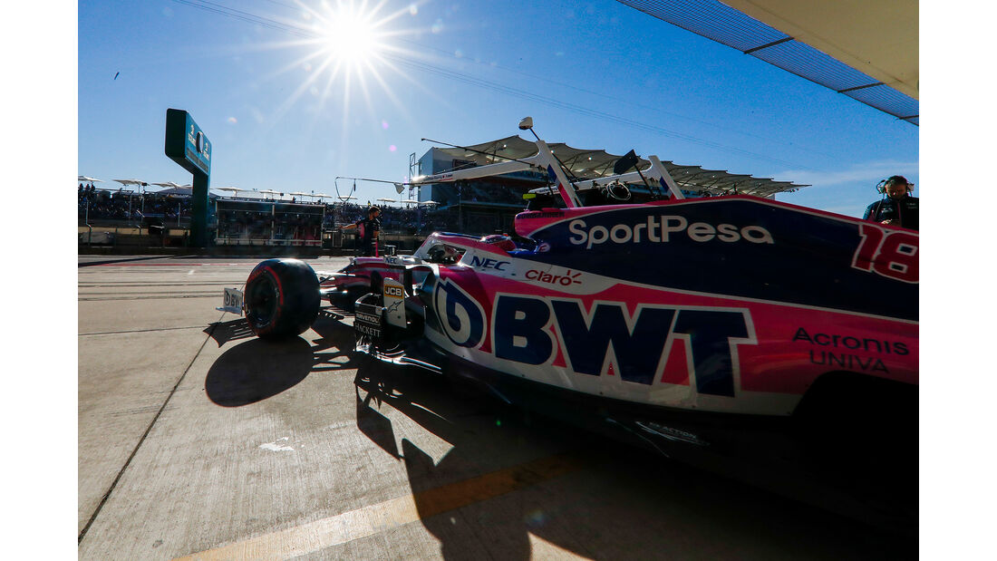 Lance Stroll - Racing Point  - Formel 1 - GP USA - Austin - 2. November 2019