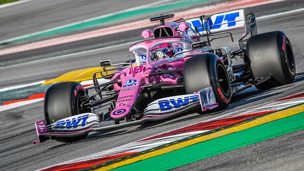 Lance Stroll - Racing Point - Formel 1 - Testfahrten - Barcelona 2020