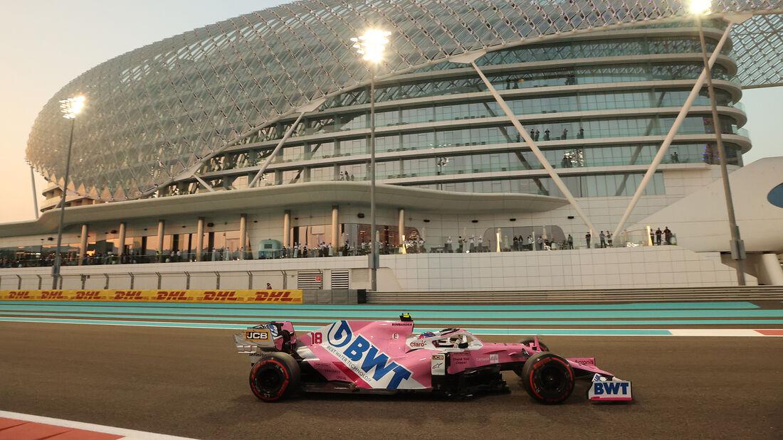 Lance Stroll - Racing Point - GP Abu Dhabi 2020