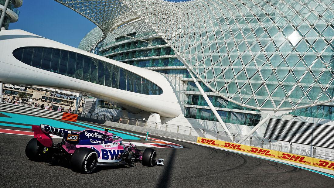 Lance Stroll - Racing Point - GP Abu Dhabi - Formel 1 - Freitag - 29.11.2019