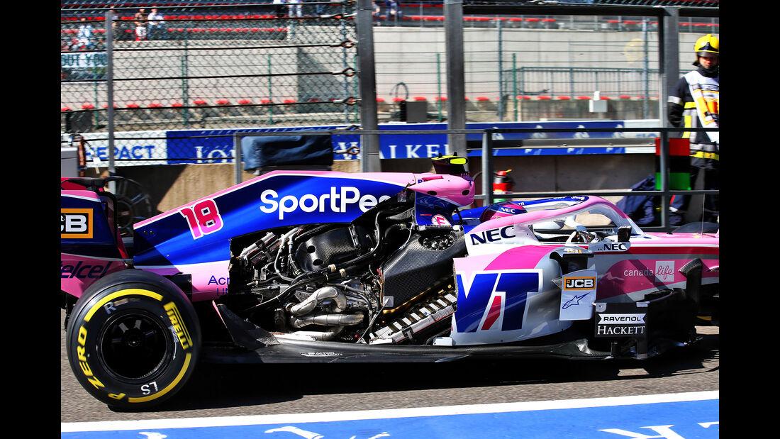 Lance Stroll - Racing Point - GP Belgien - Spa-Francorchamps - Formel 1 - Freitag - 30.08.2019