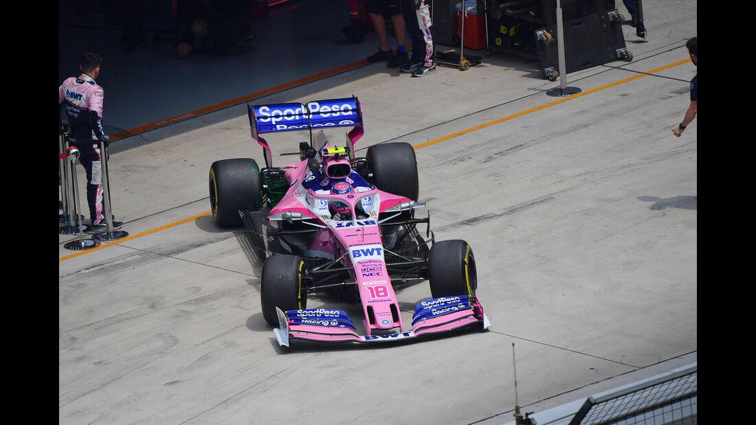 Lance Stroll - Racing Point - GP China - Shanghai - Formel 1 - Freitag - 12.4.2019