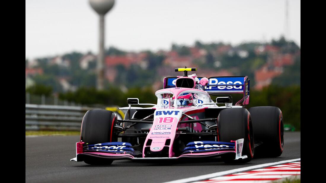 Lance Stroll - Racing Point - GP Ungarn - Budapest - Formel 1 - Freitag - 2.8.2019