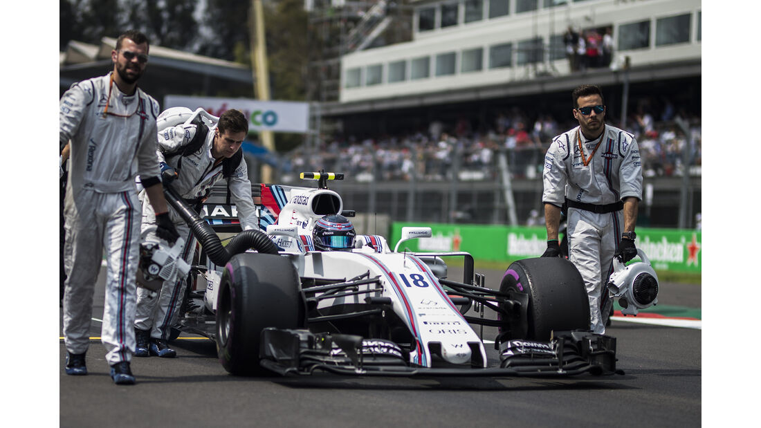 Lance Stroll - Stats - GP Mexiko 2017