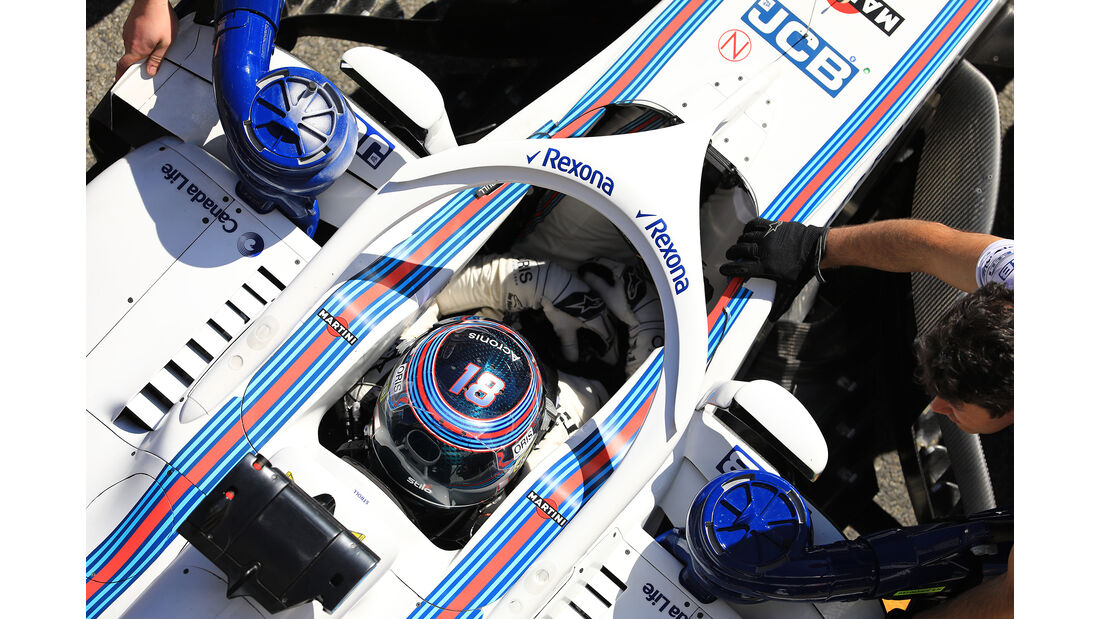 Lance Stroll - Williams - F1-Test - Barcelona - Tag 5 - 6. März 2018