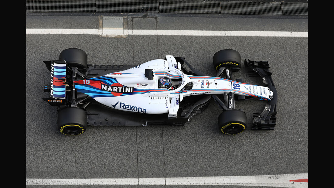 Lance Stroll - Williams - F1-Test - Barcelona - Tag 7 - 8. März 2018