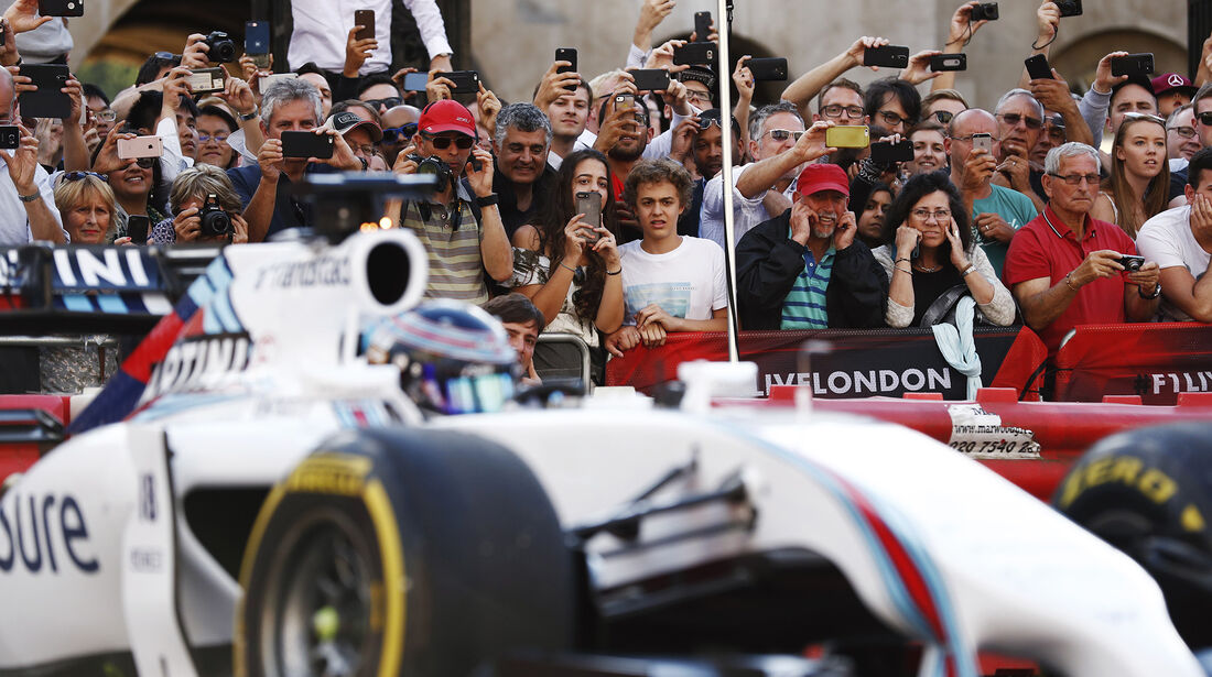 Lance Stroll - Williams FW36 - F1 Live Show - London - 2017