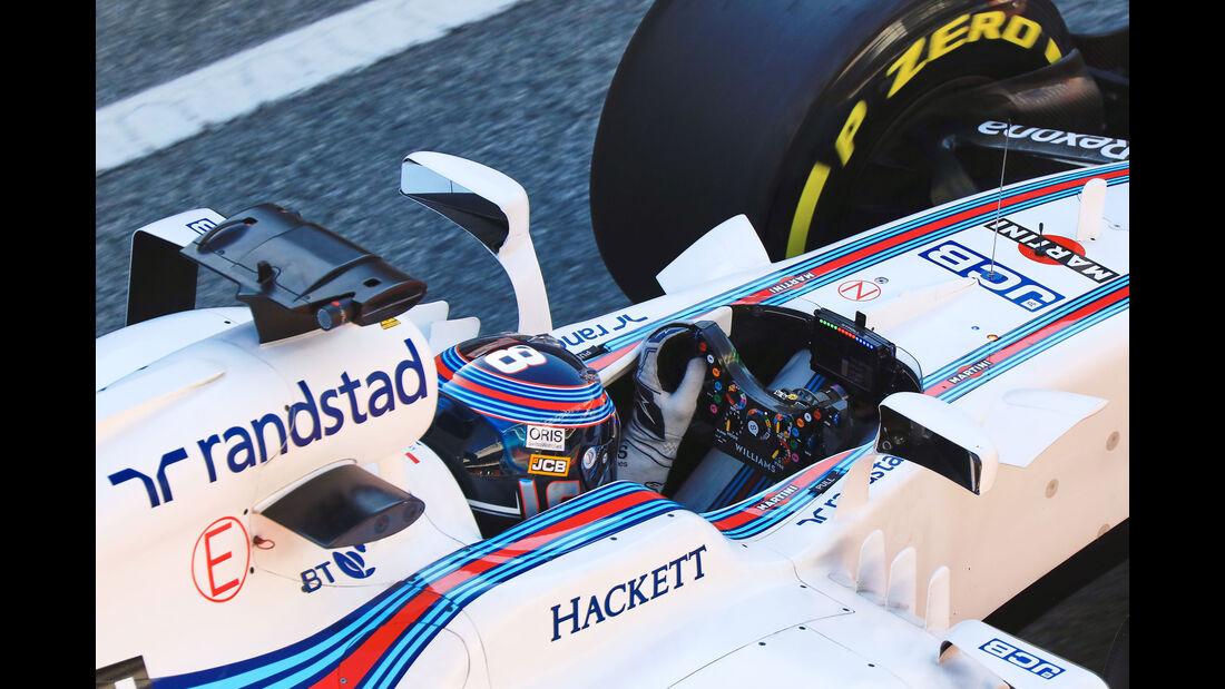 Lance Stroll - Williams FW40 - Lenkrad