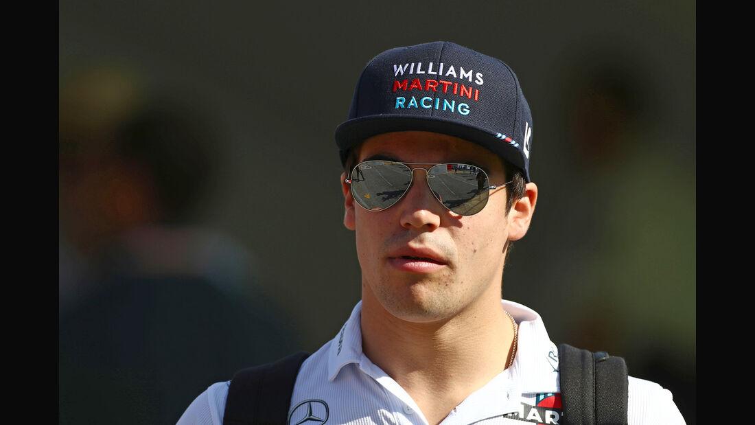 Lance Stroll - Williams - Formel 1 - 2017