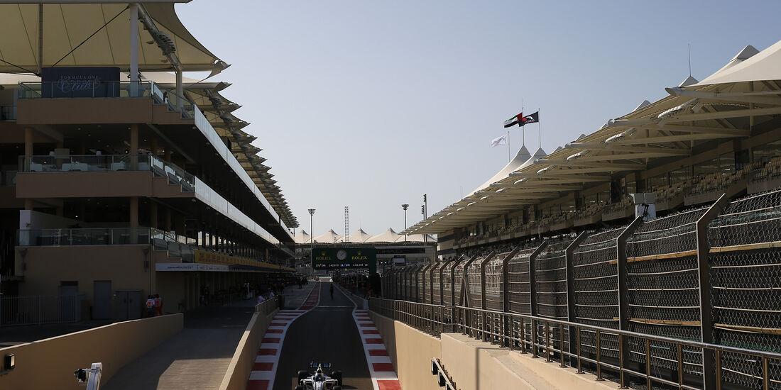 Lance Stroll - Williams - Formel 1 - GP Abu Dhabi - 24. November 2017