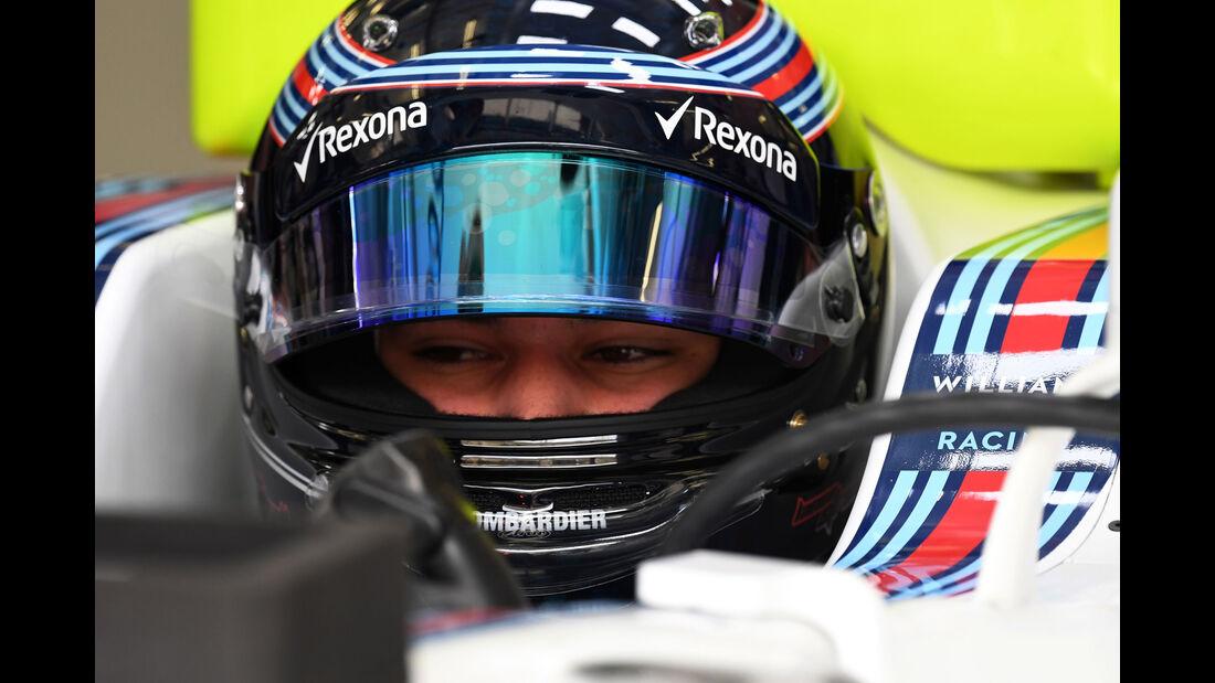 Lance Stroll - Williams - Formel 1 - GP Bahrain - Sakhir - Training - Freitag - 14.4.2017