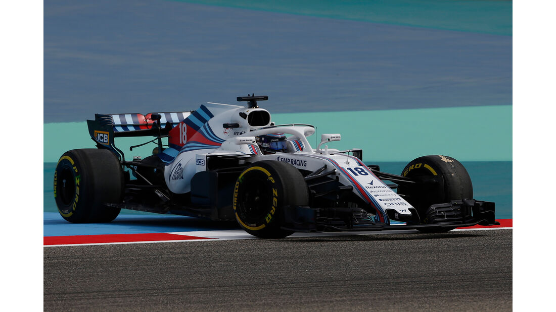 Lance Stroll - Williams - Formel 1 - GP Bahrain - Training - 6. April 2018