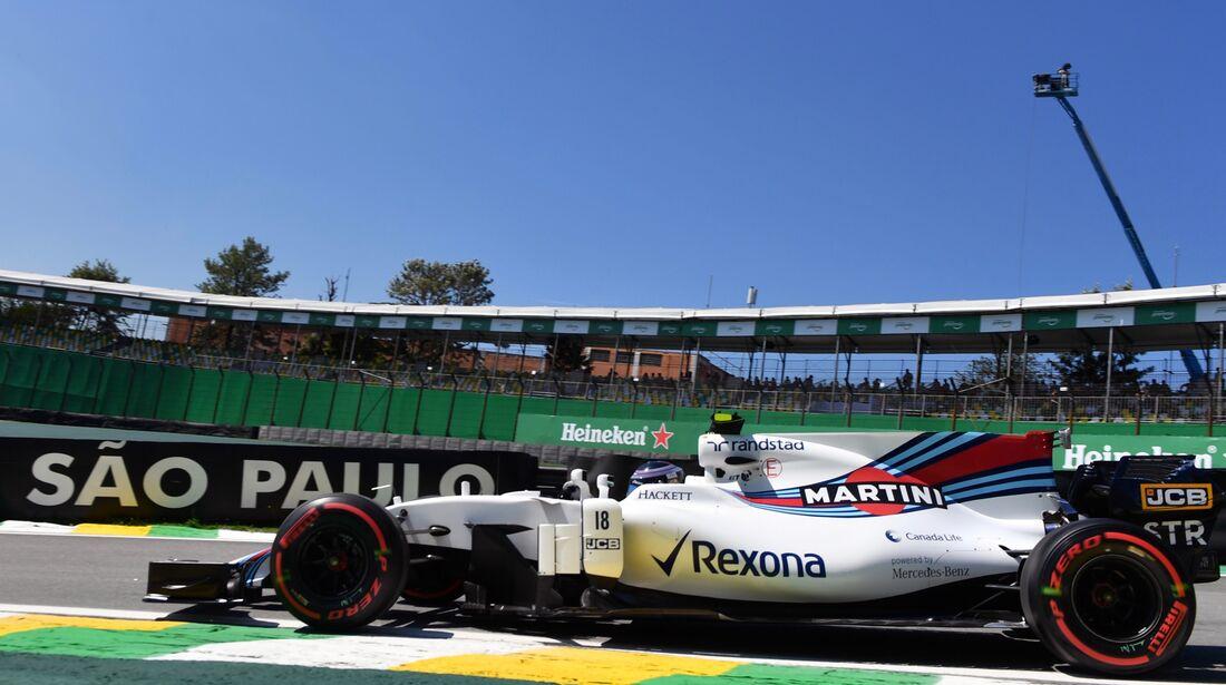 Lance Stroll - Williams - Formel 1 - GP Brasilien - 10. November 2017