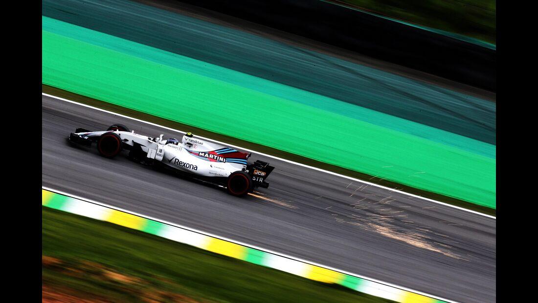 Lance Stroll - Williams - Formel 1 - GP Brasilien - 11. November 2017