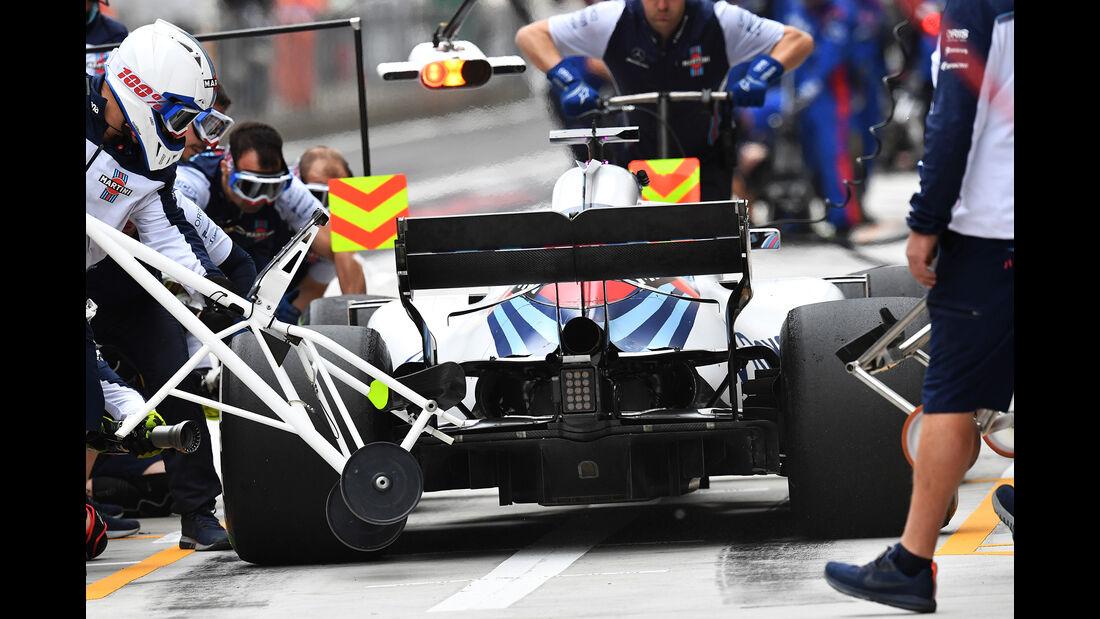 Lance Stroll - Williams - Formel 1 - GP China - Shanghai - 13. April 2017