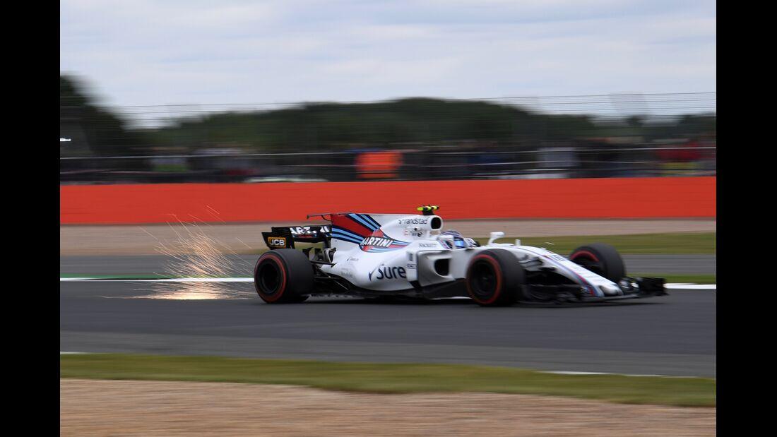 Lance Stroll - Williams - Formel 1 - GP England - 14. Juli 2017