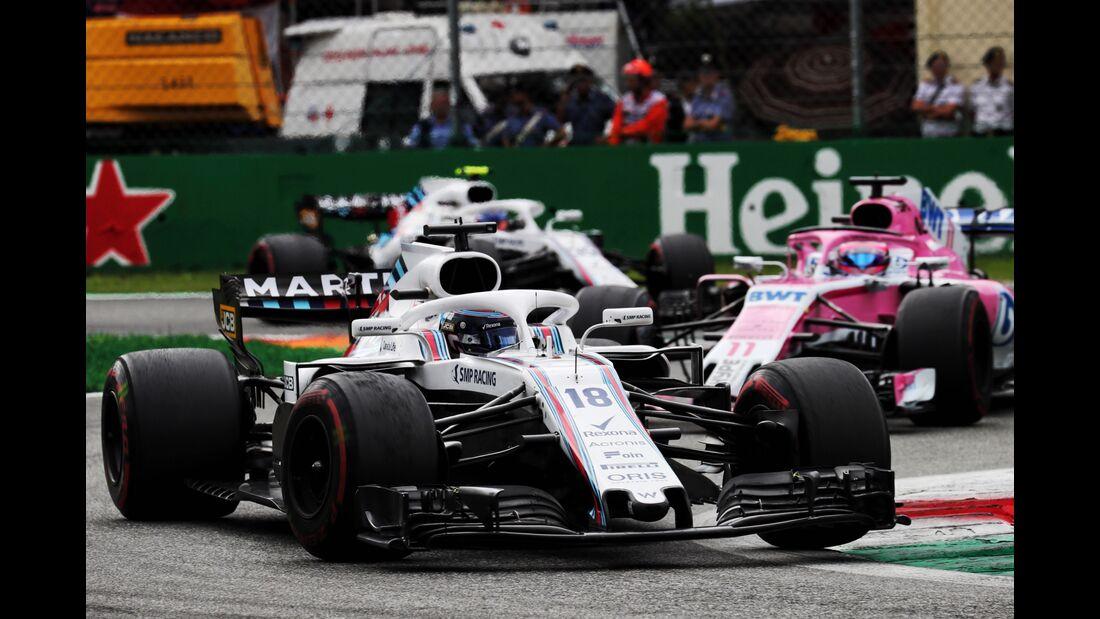 Lance Stroll - Williams - Formel 1 - GP Italien - 02. September 2018