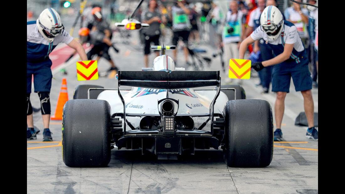 Lance Stroll - Williams - Formel 1 - GP Italien - Monza - 1. September 2017
