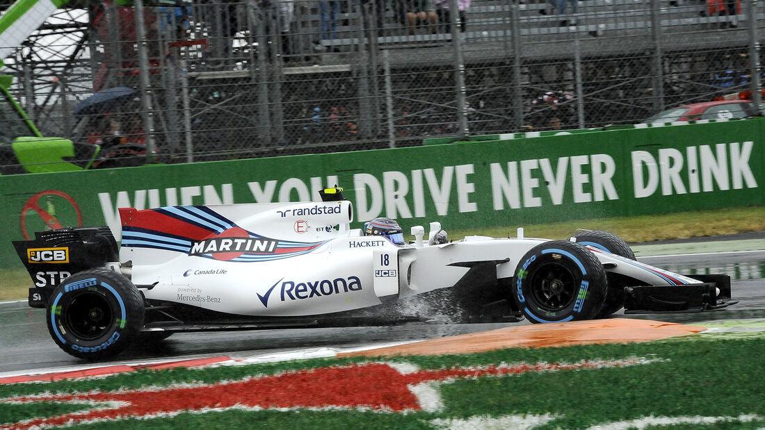 Lance Stroll - Williams - Formel 1 - GP Italien - Monza - 2. September 2017