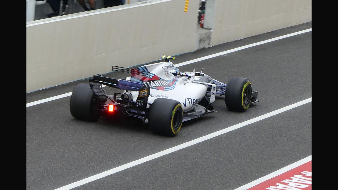 Lance Stroll - Williams - Formel 1 - GP Japan - Suzuka - 6. Oktober 2017