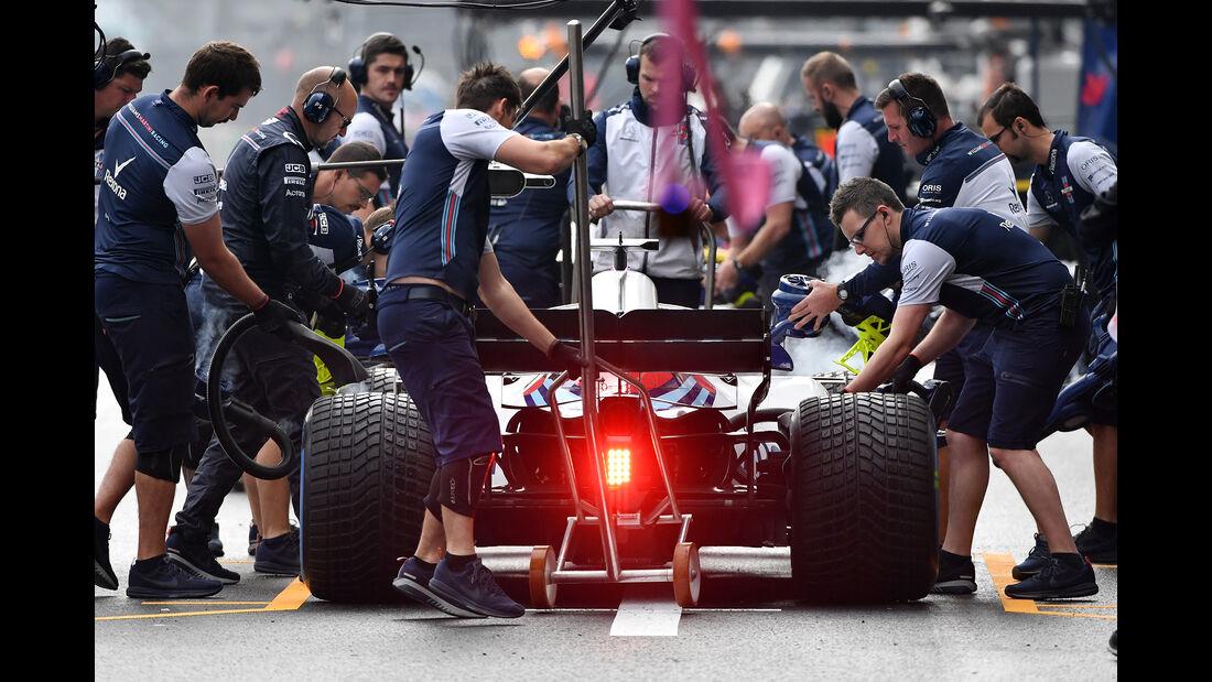 Lance Stroll - Williams - Formel 1 - GP Mexiko - 27. Oktober 2018