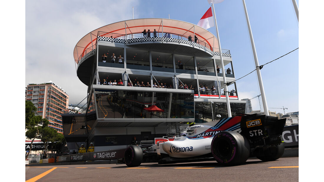 Lance Stroll - Williams - Formel 1 - GP Monaco - 25. Mai 2017