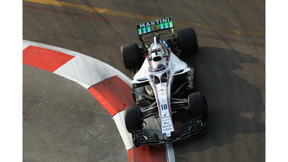 Lance Stroll - Williams - Formel 1 - GP Singapur - 14. September 2018