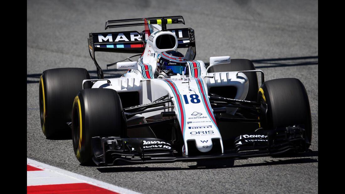 Lance Stroll - Williams - Formel 1 - GP Spanien - 13. Mai 2017
