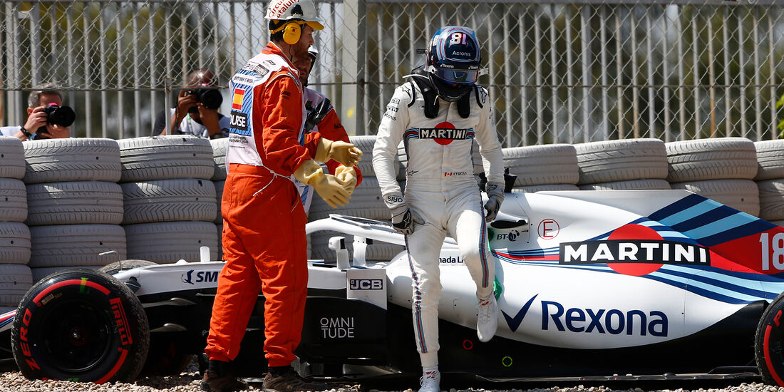 Lance Stroll - Williams - Formel 1 - GP Spanien - Barcelona - 11. Mai 2018