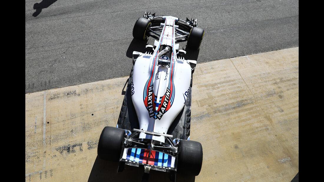 Lance Stroll - Williams - Formel 1 - Test - Barcelona - 1. März 2017