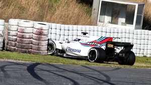 Lance Stroll - Williams - Formel 1 - Test - Barcelona - 1. März 2017