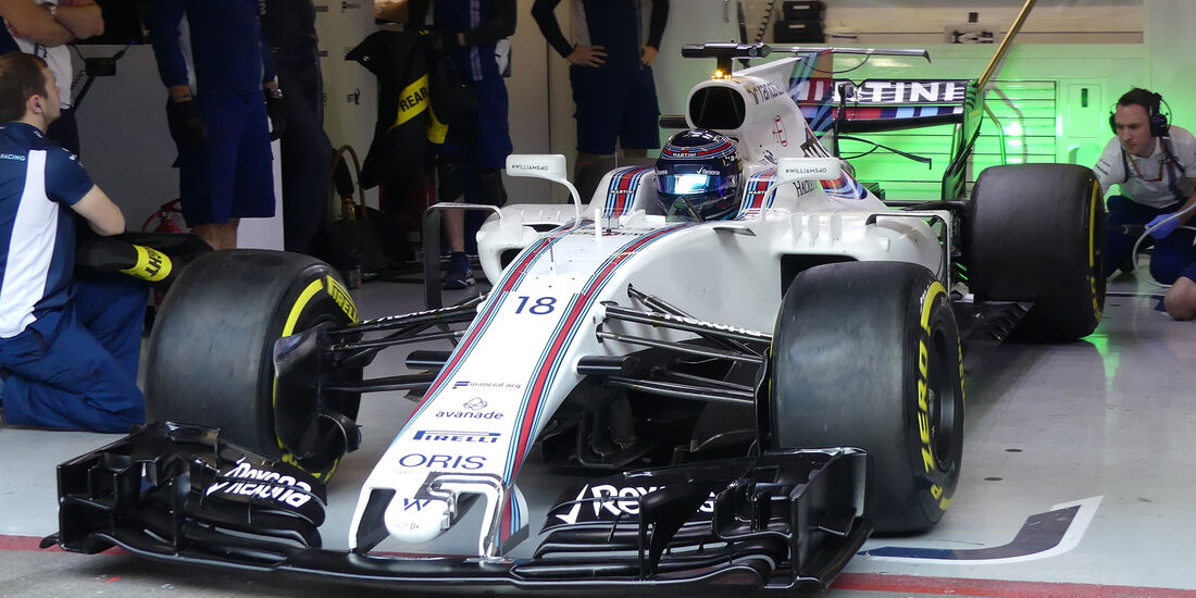 Lance Stroll - Williams - Formel 1 - Test - Barcelona - 10. März 2017