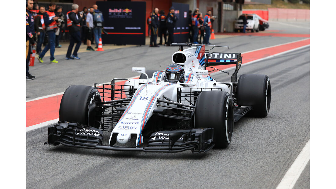 Lance Stroll - Williams - Formel 1-Test - Barcelona - 28. Februar 2017