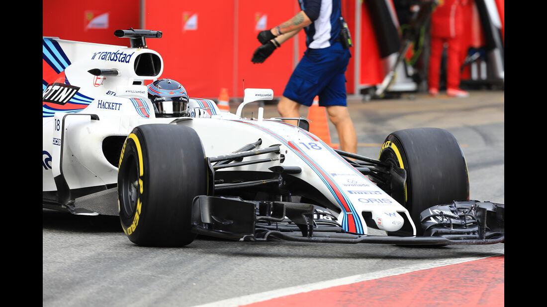 Lance Stroll - Williams - Formel 1 - Test - Barcelona - 8. März 2017