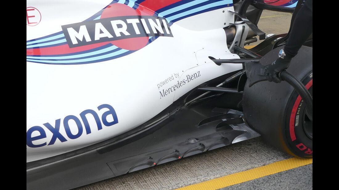 Lance Stroll - Williams - Formel 1 - Test - Barcelona - 9. März 2017