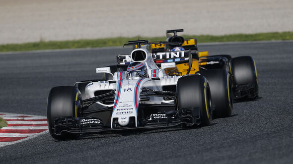 Lance Stroll - Williams - Formel 1 - Test - Barcelona - 9. März 2017
