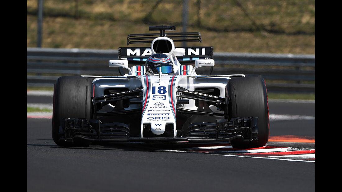Lance Stroll - Williams - Formel 1 - Test - Ungarn - Budapest - 1. August 2017