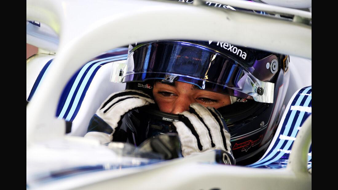 Lance Stroll - Williams - GP Abu Dhabi - Formel 1 - 23. November 2018