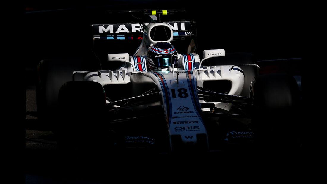 Lance Stroll - Williams - GP Aserbaidschan 2017 - Baku - Rennen