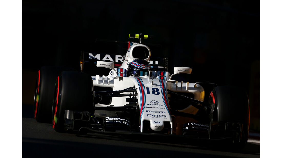 Lance Stroll - Williams - GP Aserbaidschan 2017 - Qualifying - Baku - Samstag - 24.6.2017
