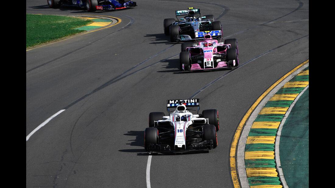 Lance Stroll - Williams - GP Australien 2018 - Melbourne - Rennen
