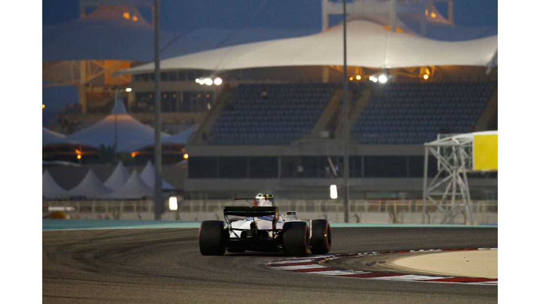 Lance Stroll - Williams - GP Bahrain 2017 - Qualifying
