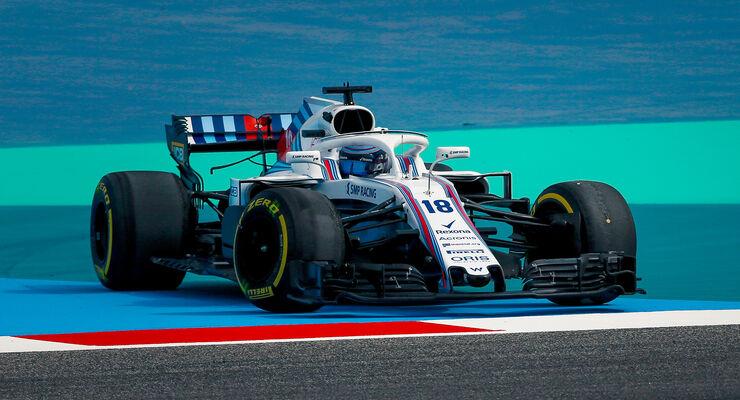 Lance Stroll - Williams - GP Bahrain 2018