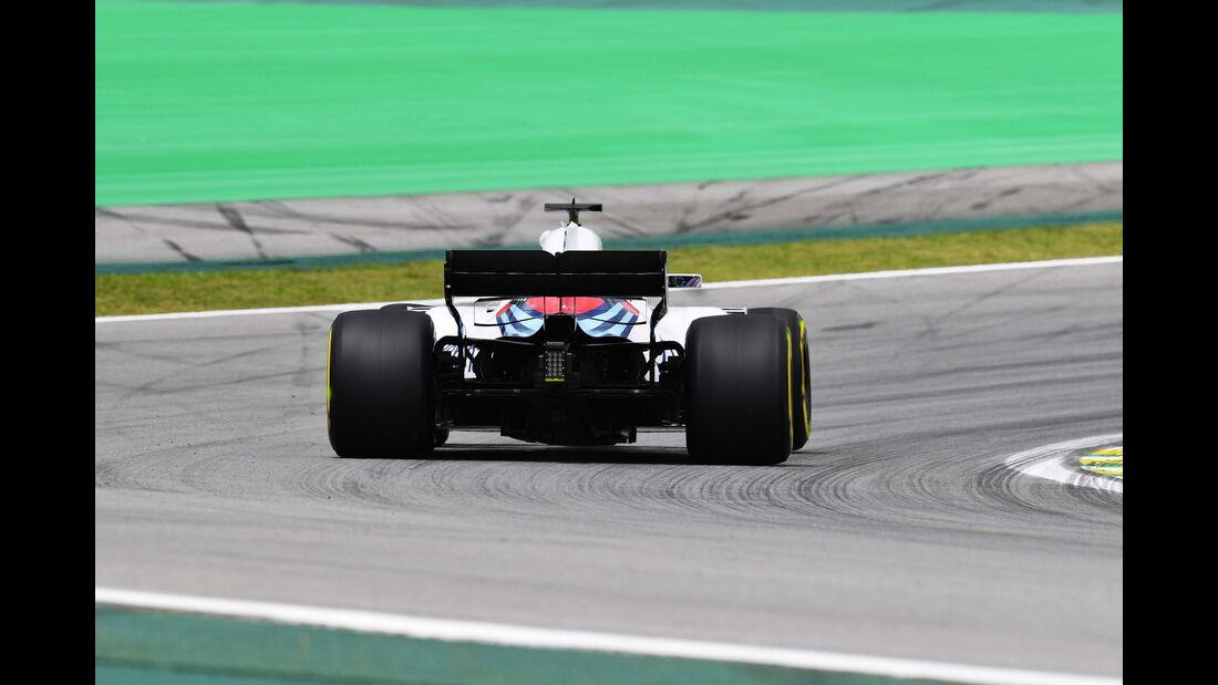 Lance Stroll - Williams - GP Brasilien - Interlagos - Formel 1 - Freitag - 9.11.2018