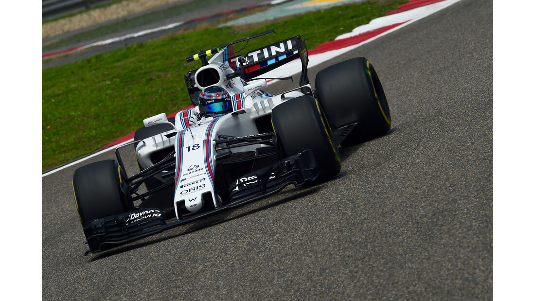 Lance Stroll - Williams -  GP China 2017 - Qualifying - 8.4.2017
