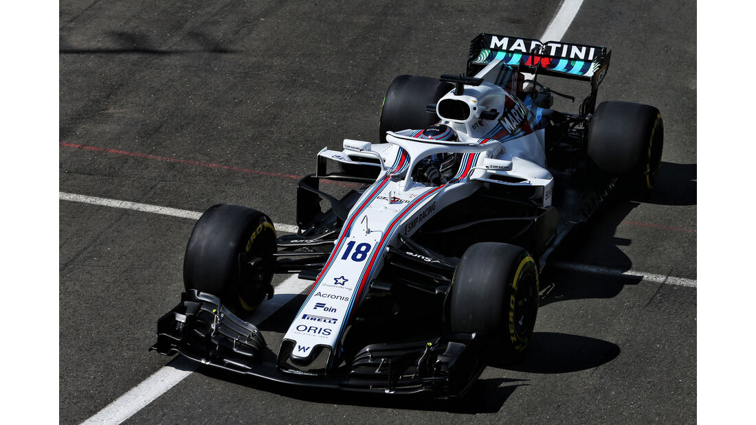 Lance Stroll - Williams - GP England - Silverstone - Formel 1 - Freitag - 6.7.2018